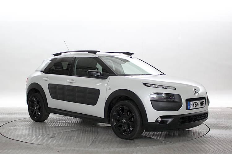 2014 64 reg citroen c4 cactus 1 6 bluehdi flair met white 5 standard diesel in west london. Black Bedroom Furniture Sets. Home Design Ideas