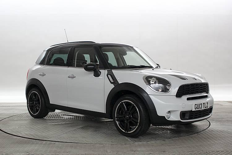 2013 13 reg mini countryman 2 0 cooper sd all4 chili media pack light white 5 in west london. Black Bedroom Furniture Sets. Home Design Ideas