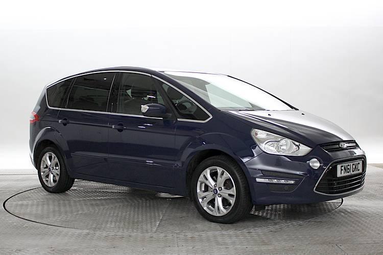 2011 (61 reg) ford s-max 2.2 tdci 200 titanium blazer blue mpv