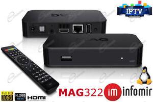 MAG 322W1 IPTV Box