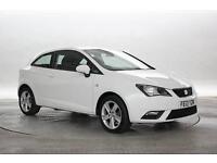2013 (13 Reg) Seat Ibiza 1.4 Toca White 3 STANDARD PETROL MANUAL