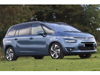PCO CAR HIRE/rent - UBER XL READY Citroen Grand C4 Picasso 16 plate