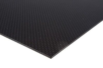 1Pc 500mm*500mm*3mm Best Carbon Fiber Plate Matte Surface For RC Airplane