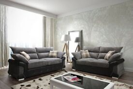 Brand New NATS 3+2 Fabric Sofa Set Now On Sale