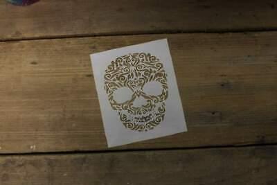 L692a Halloween Sugar Skull Airbrush Reusable Durable Mylar Stencil laser USA](Sugar Skull Stencil)