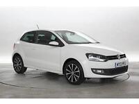 2013 (13 Reg) Volkswagen Polo 1.2 Match Edition White 3 STANDARD PETROL MANUAL
