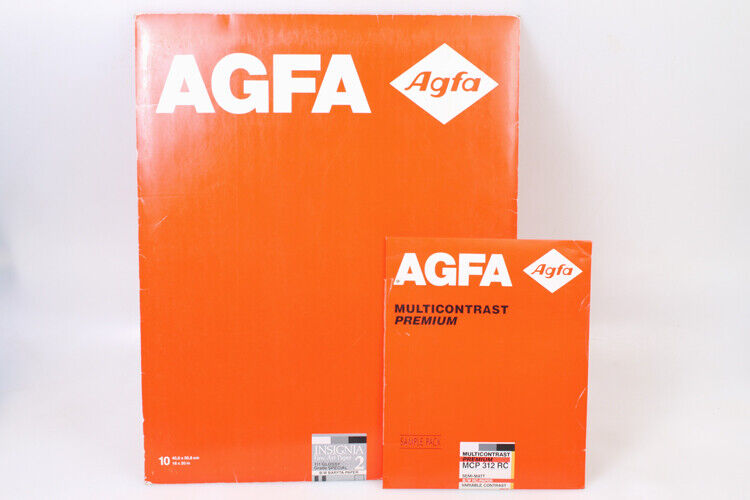 AGFA 16X20 (3?)   8X10 (10) PHOTO PAPER AS IS