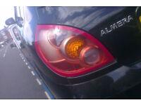 Nissan Almera N/S Rear Light Breaking For Parts (2003)