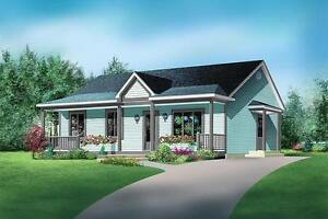 NEW $132,500 CONSTRUCTED 988 SQ FT BUNGALOW ON YOUR LOT