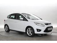 2013 (13 Reg) Ford C-Max 2.0 TDCi 140 Titanium X Powershift # White MPV DIESEL A