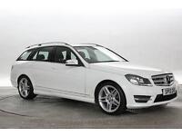 2013 (13 Reg) Mercedes C220 2.2 CDi BlueEFF AMG Sport White ESTATE DIESEL AUTOMA