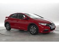 2014 (14 Reg) Honda Civic 1.6 i-DTEC S Misano Red 5 STANDARD DIESEL MANUAL