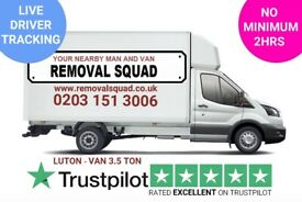 PROFESSIONAL UNBEATABLE PRICES ON MAN & VAN, REMOVALS, INSTANT ONLINE QUOTE UK & EUROPE 24/7 SQ