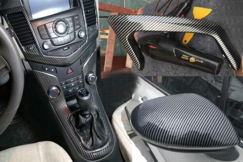 Car Parts - Parts Carbon Fiber Car Door Sill Scuff Stickers Plate Edge Guard Pedal Strip US
