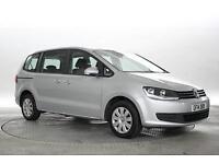 2014 (14 Reg) Volkswagen Sharan 2.0 TDi 140 BlueMotion S DSG Reflex Silver MPV D