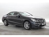 2012 (12 Reg) Mercedes E250 2.2 CDi BlueEFF Sport Met Dk Grey COUPE DIESEL AUTOM