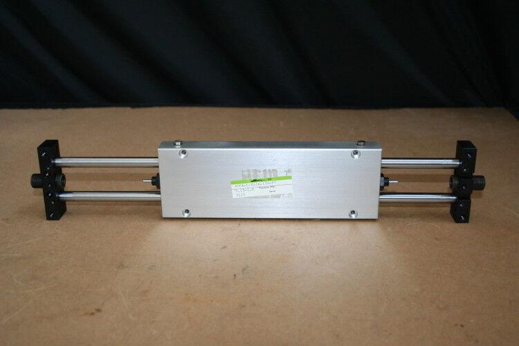 Linear positioner, Pneumatic cylinder, 150mm stroke, Slide, Miller/CKD Unused