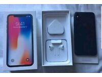 iPhone X 64gb - Unlocked - SPACE GREY £700
