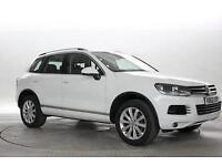 2012 (62 Reg) Volkswagen Touareg 3.0 TDi 245 BlueMotion Tech SE DSG Pure White D