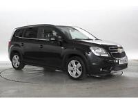 2013 (13 Reg) Chevrolet Orlando 2.0 VCDi LTZ Pearl Black MPV DIESEL MANUAL