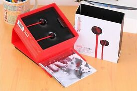 Earphones in ear headphones high quality sound new sealed Christmas gift