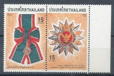 275493) Thailand Paar Nr.1890-1** Kgl. Auszeichnungen Orden