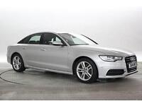 2014 (14 Reg) Audi A6 2.0 TDi 190 Ultra S-Line Silver DIESEL MANUAL