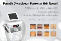 Three-wavelength Laser Hair Removal Machine  Manufacturer
