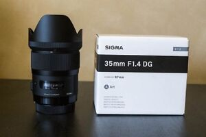 Trading sigma 35mm for sigma 24mm