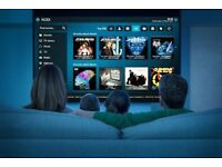Apple TV firtst generation with HD hardware decoder and remote control 160GB HDD KODI on board
