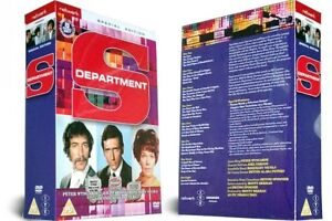 DEPARTMENT S the complete series. Peter Wyngarde. 8 disc box set. New DVD.
