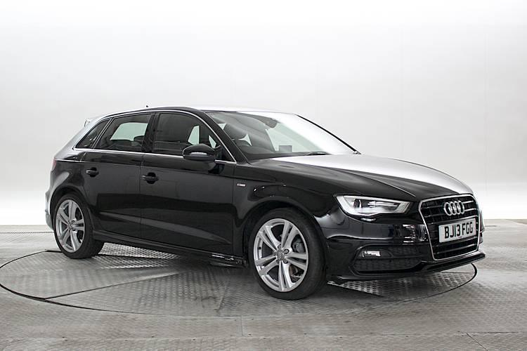 2013 13 reg audi a3 1 6 tdi s line sportback brilliant. Black Bedroom Furniture Sets. Home Design Ideas