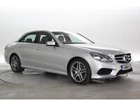 2014 (14 Reg) Mercedes E220 2.2 CDi AMG Sport Silver DIESEL AUTOMATIC