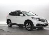 2013 (13 Reg) Honda CR-V 2.0 EX White PETROL AUTOMATIC