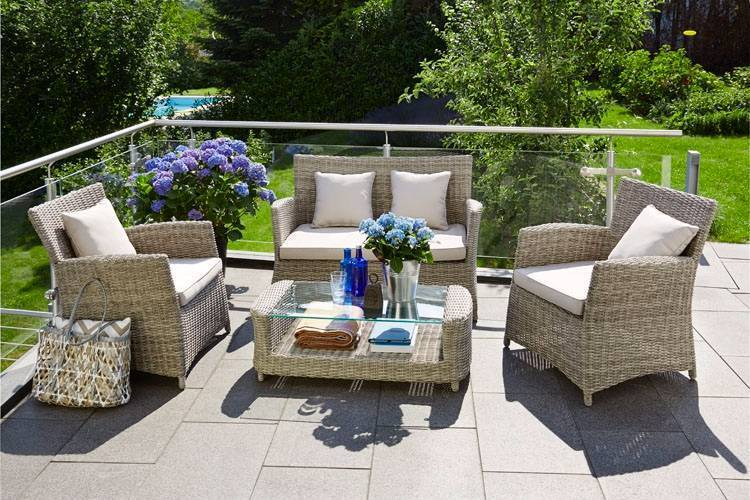 Glen Iris Balcony 4 Piece Set - Only $659 (Was $1080)