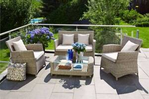GLEN IRIS OUTDOOR SETTING - 2 YEARS WARRANTY - FREE DELIVERY*