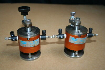Pneumatic Cylinder 1 18 Bore 12 Stroke D-121-xdr Fabco-air Lot Of 2