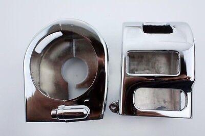 Chrome Switch Housing Cover For 1999-2008 Kawasaki Vulcan 1500 1600 All Models