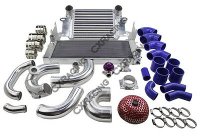 CXRacing S13 SR20DET Intercooler Rad Piping BOV Kit For Nissan Datsun 510 Swap