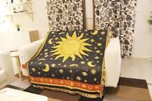 celestial throw rugs tapestry home decor apollo sun-god tassel Homebush West Strathfield Area Preview