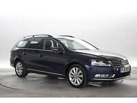 2013 (13 Reg) Volkswagen Passat 2.0 TDi 140 BlueMotion Tech Highline Shadow Blue