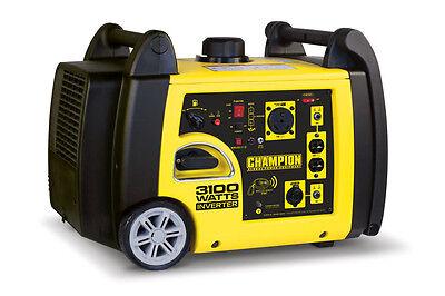 75537R - 2800/3100w Champion Inverter Generator Remote Start - REFURBISHED