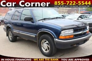 2001 Chevrolet Blazer 4WD SUV - EXTREME VALUE ALERT!!!
