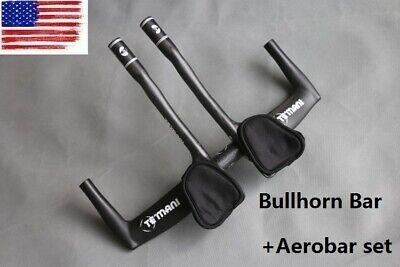 Details about  /TOSEEK Carbon Bicycle Bike TT Triathlon Aero Bar rest Handlebar Aerobar 31.8mm