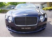 2014 Bentley Continental GT 6.0 W12 Speed 2dr Auto Automatic Petrol Coupe