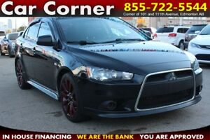 2013 Mitsubishi Lancer SE AWD/LEATHER/HEAT-SEATS/SUNROOF/MORE!!