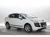 2013 (13 Reg) Peugeot 3008 1.6 e-HDi Active II EGC Pearl White MPV DIESEL AUTOMA