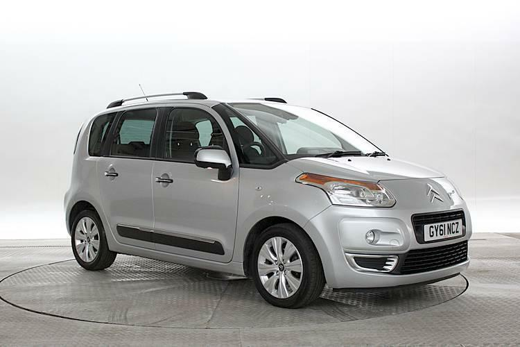 2011 61 reg citroen c3 picasso 1 6 hdi 90 exclusive. Black Bedroom Furniture Sets. Home Design Ideas