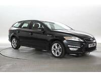 2013 (13 Reg) Ford Mondeo 2.0 TDCi 163 Zetec Panther Black ESTATE DIESEL MANUAL