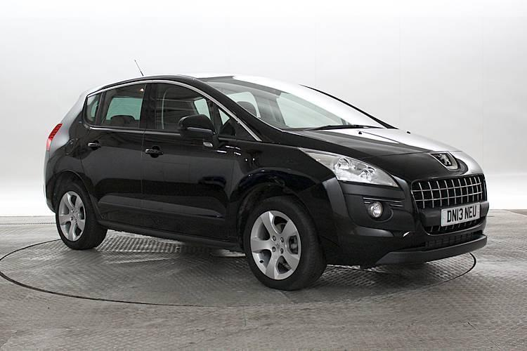 2013 13 reg peugeot 3008 1 6 hdi active nera black mpv diesel manual in west london. Black Bedroom Furniture Sets. Home Design Ideas